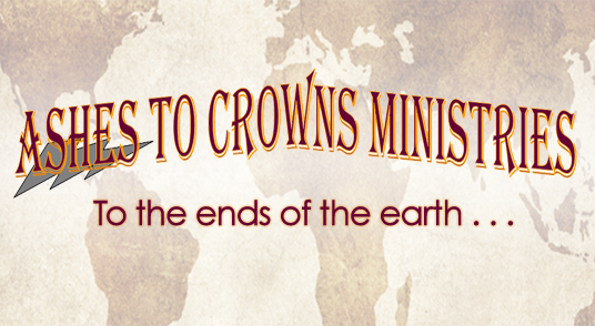 ashes to crowns ministries